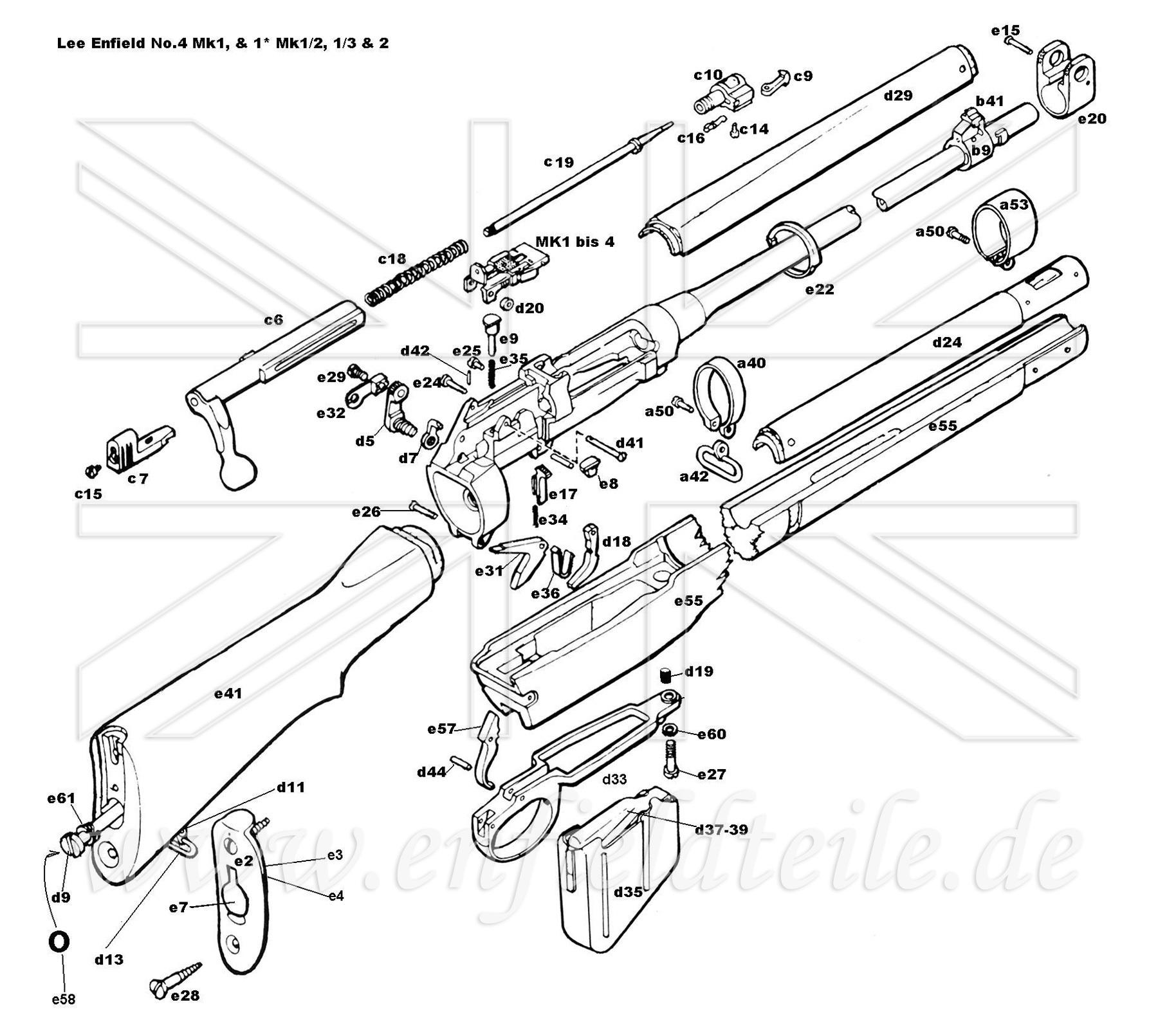 p14 enfield parts