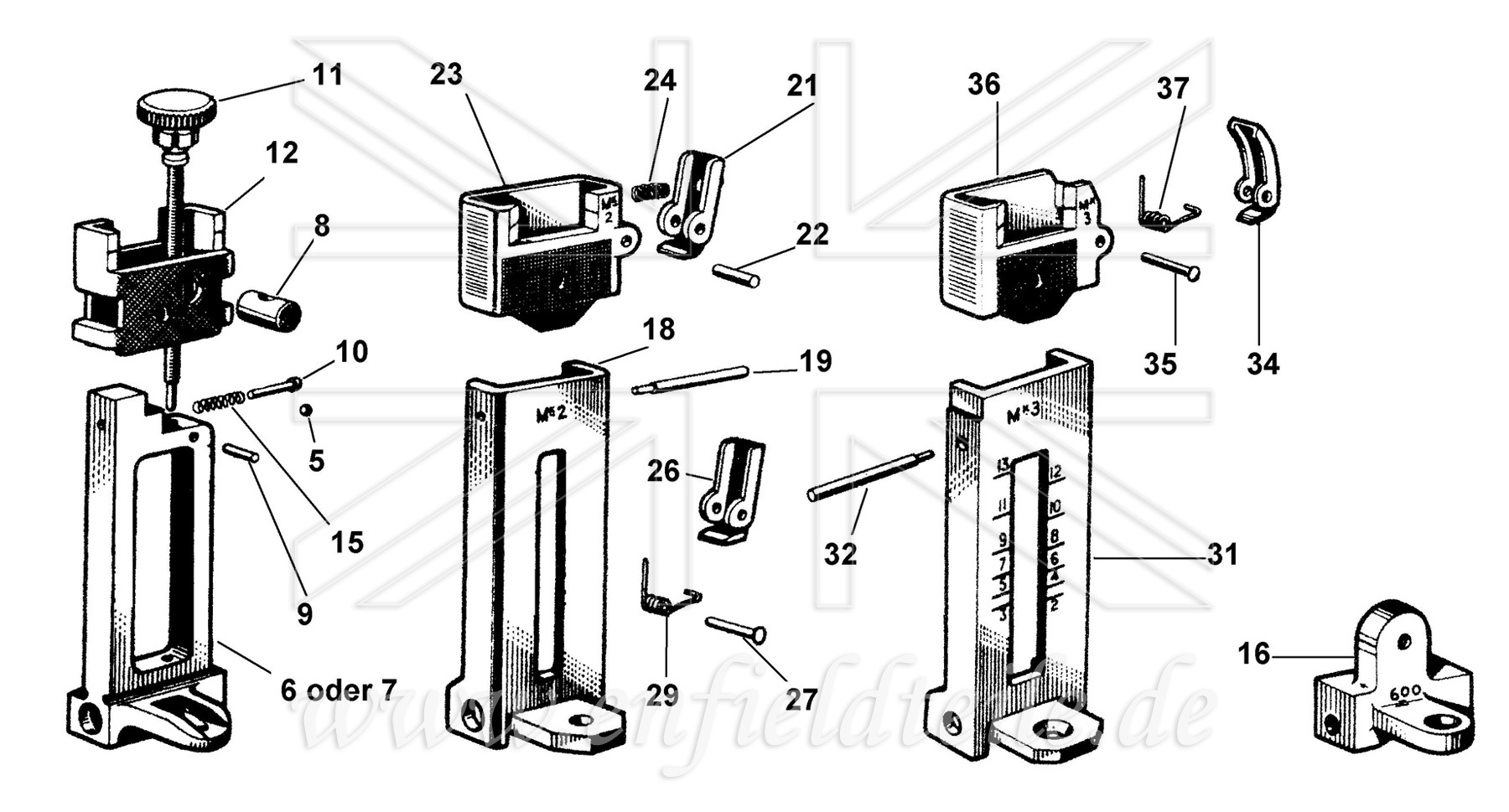 sterling l2a3 parts diagram  sterling  get free image
