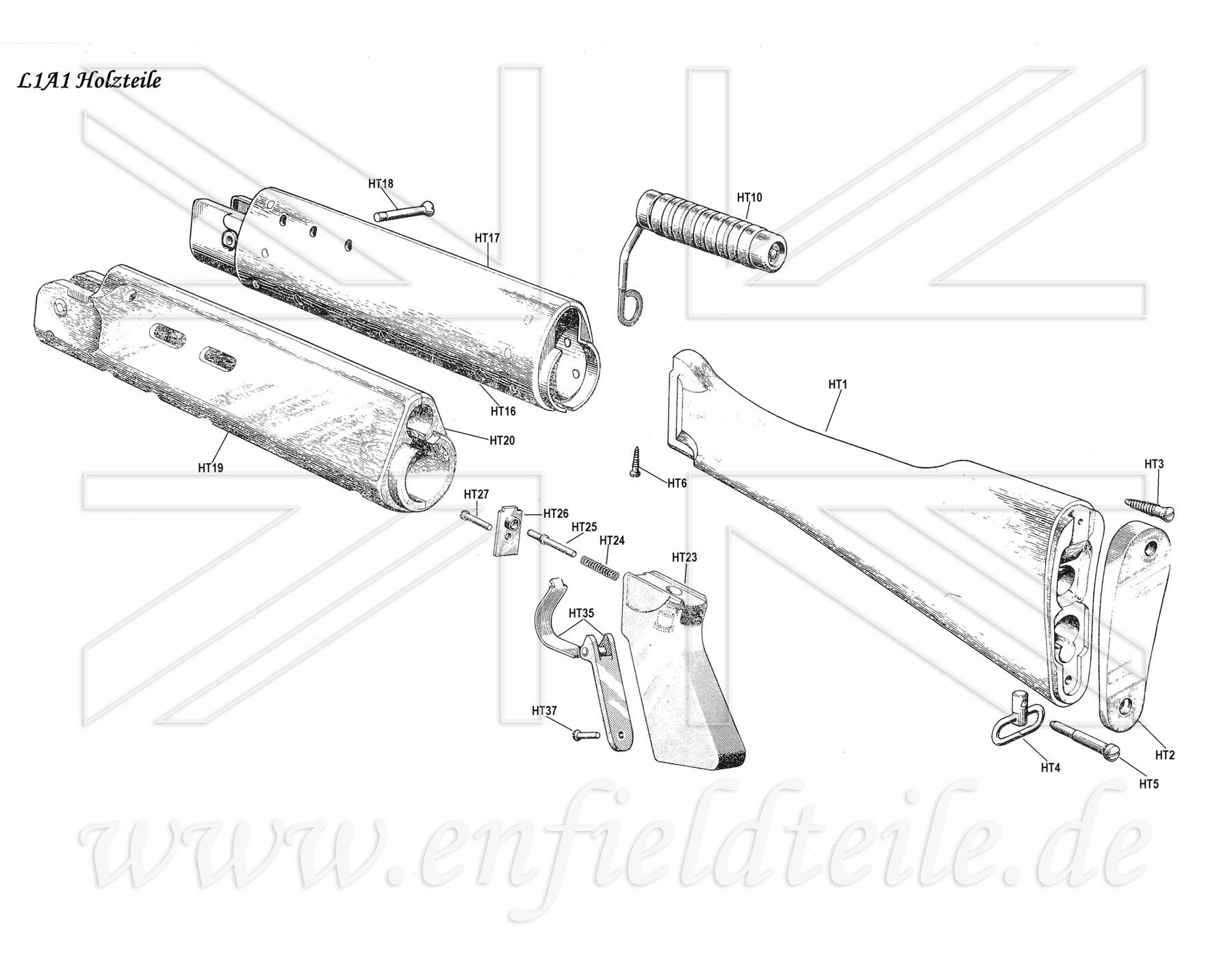 p17 enfield parts